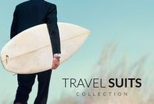 Travel Suits / Maximum comfort with our Lightweight fabrics. Travel with us!