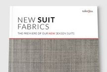 New Suits Fabrics Premiere / We have released a selection of our New Fall Suits Fabrics. Dotted, Paisley, Birdseye, Moleskine... More Patterns than ever!
