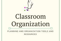 Classroom Organization / Helpful ways to keep you organized in the classroom