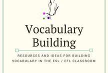 ESL/EFL Vocabulary Building
