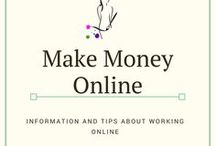 Make money Online / Learn how to work online so you can make money at home or while you travel! You can also start a side hustle to help supplement your income while teach English and travel.