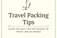 Travel Packing Tips / The best ways to pack for traveling abroad or moving abroad.