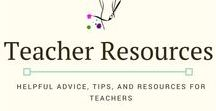 Teacher Resources / Resources, tips, and advice for teachers to help streamline their processes and get organized. Professional Development tips as well! #teacher #resources #teacherhacks #professionaldevelopment