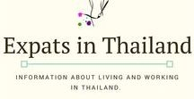 Expats in Thailand / Information and advice for expats living and working in Thailand. #teachabroad #workabroad #workinthailand #thailand #expat