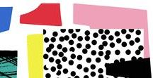 Eighties Pop par Editions Oberthur / Imprimés kitsch, formes asymétriques, couleurs pop. Bienvenue dans l'aire des années 80 qui ne cessent de nous inspirer encore aujourd'hui !