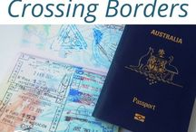 Crossing Borders / Everything you need to know about #crossing #overland #borders with, or without, your #vehicle. Hints, #traveltips #travelhacks and how's to get you adventuring. Together.