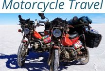 Motorcycle Travel / Everything you need to know about travelling on a motorcycle. How to #pack, what #motorcycle to choose, which #countries to ride and more!