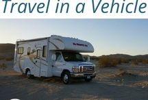 Travelling by Car, RV, Motorhome, Van or Bus / Everything you need to know about travelling in a #vehicle whether you are taking on a #roadtrip in a #car #bus #van #RV or #motorhome.