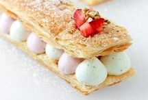 Desserts / Beautiful and sweet to pretty to eat. A place to share beautiful desserts. #cake #recipe #diaryfree #glutenfree #biscuits #cookies #swissroll #cream #pattiseries #pattisery #chocolate #fruit