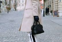 Chic brunette / What chic brunettes wear now. All the chic outfits. #chic #outfits #style #look #brunette