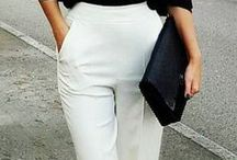 Trousers and pants / How to style trousers and pants for any occasion.  #pants #pant #trousers #palazzopants #leggins #trackpants #tailoredpants #widelegpants #widepants #slacks #skinny #bootcut #straightleg #streetstyles #womensstylesandtrends #sporty #fashionstreet