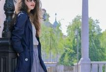 Trench Coat / How to style trench coat, rain coat and parka.  #trench #trenchcoat #springfashion #autumnfashion #fallfashion #parka #raincoat #burberrytrenchcoat #burberry