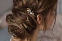 Bridal Hairstyles / Beautiful updo's, down-do's and half-do's
