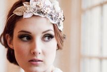 Bridal hair pieces / Tiaras and Jewelry for wedding day hair