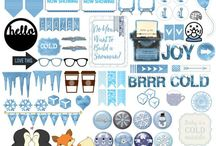 Journaling - printable sets