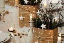 Déco Table Noël - Nature