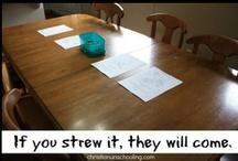 School Zone / Ideas for my Homeschooling Wonderland  :) / by Deborah Herring