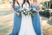 Something Blue Wedding Magic / featuring handmade magic from the Etsy Wedding Team