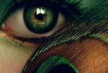 Green eyes / by Cami Ka