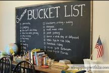 BUCKET LIST - TO DO / Places to go before I die. / by Annette Biering