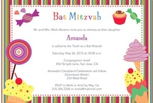 Candy Land Bat Mitzvah Party