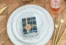 Dinnerware / There are few things that complete a space as perfectly as beautiful dinnerware. From fine china to artisan ceramics, Kelly's collections are sexy, fun and sophisticated. Don't be afraid to mix materials and patterns. The contrasting or complimentary textures will create a sexiness for the whole table. / by Kelly Wearstler