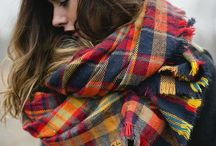 Scarf Obsession / They are both cozy and fashionable
