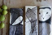 Tea towels & Table Linens...