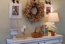 ACCESSORIZE / Things to accessorize our homes with. / by Annette Biering