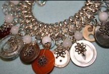 Charm Bracelets / So this is a collection of handcrafted traditional charm bracelets and a few vintage ones I have come across. People find my bracelets very collectable and perfect for weddings.  / by Genice Rill