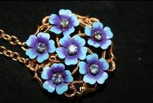 VINTAGE BROOCHES / Vintage brooches are fun, glamourous and the perfect gift for any brooch lover. I have a huge selection to choose from in my shop why not visit and take a peek!  / by Genice Rill