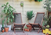 t e r r a c e / plant, furniture, and planter inspiration for my terrace.
