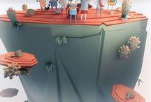 Concept/Game Art