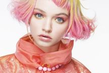 Coiffure: Rainbow Brite / Lovely hair from every color of the rainbow / by Kasia Kowalczyk