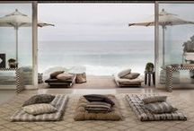 Terra Firma Outdoor Fabrics Collection / Soulful prints and subdued, tonal hues celebrate the organic beauty of the California coastline, lush botanical gardens and deserts capes, all uniquely abundant with rich texture and distinctive details. / by Kelly Wearstler