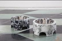 Dog Collection / Handcrafted in Los Angeles from the finest materials –  including marble, leathers and luxe combed metals — the collection brings Kelly Wearstler designed elevated living to a dog's life.  A portion of proceeds from the collection goes to Best Friends Animal Society, a charity dear to Kelly's heart, in support of the organization's efforts & activities on behalf of animals.  / by Kelly Wearstler