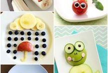 Little Artists: Food Art for Kids / Get your little foodies excited about healthy food with these fun food ideas for kids! Find all kinds of fun food art ideas from Easter and Saint Patrick's Day to animals and legos. Look for fun kid party food ideas and food activities your kids will love!