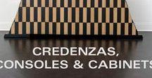 Credenzas, Consoles & Cabinets