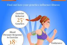 Fitness and your DNA! / Did you know that your DNA affects your fitness?   Information & tips on how you can use your genetics to optimize your fitness.