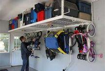 Overhead Storage Racks