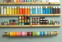 Ribbons display / How to store, organize and display your ribbon collection