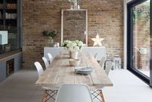 Interior Trend: Exposed Brick Walls / 'Broken plan living' is the latest buzz among industry experts, meaning exposed brick is set to see a resurgence in popularity. It's a great way to add a rustic touch to separated spaces and make the most of a much sought-after traditional feature.