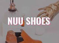 Nuu Shoes / O deslocamento entre espaço e tempo são conceitos que norteiam o desenvolvimento dos produtos, tendo um apelo que não é somente estético, mas também de mobilidade