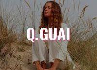 Q.Guai / Nascida e criada no Rio de Janeiro, a Q.Guai é uma marca contemporânea feminina, nosso principal objetivo é oferecer arte, design e moda consciente transmitindo o life-style carioca.