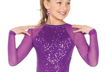 Skating and dance costumes