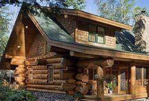 Modern Kütük Ev