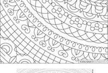 XLkleurplaat | Mandala / Cirkel kleurplaten om je eigen kunstwerk van te maken in je vrije tijd.