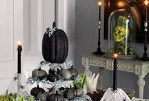 Halloween - Trick or Treat / Boo! Let's get creative this Halloween. Here's a bunch of crafts for kids and adults, spooky recipes and creepy decor ideas to scare even the bravest soul!