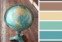 color or colour? / Color palettes for inspiration. / by Jessica Bagge