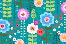 Pattern Perfect / Repeating design inspiration for paper, fabric, tile or whatever you want it for.